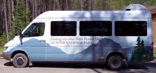 Glacier Shuttle Bus