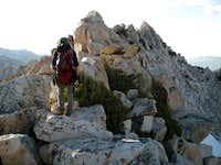 Approaching Graveyard Peak