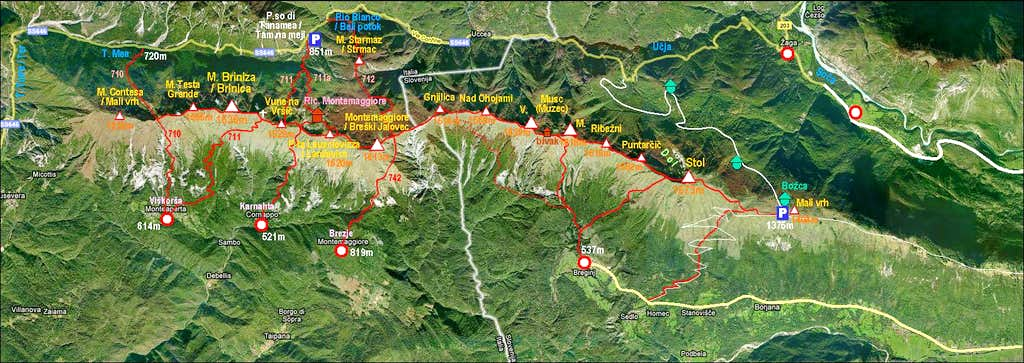 Stol - Gran Monte range