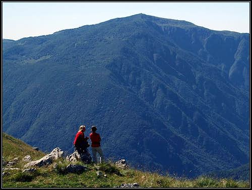 Matajur from the ridge of Stol