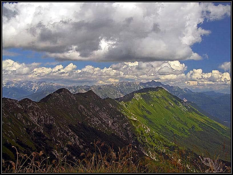 Montemaggiore / Breski Jalovec E panorama