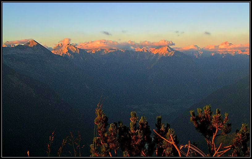 Julian Alps from Mali Musc