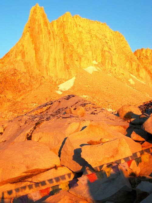 Sunrise on Granite Park Spire