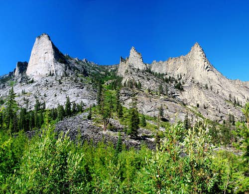 Blodgett Canyon Spires