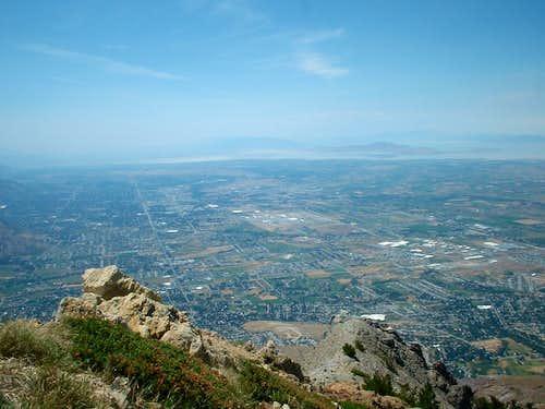 View southwest