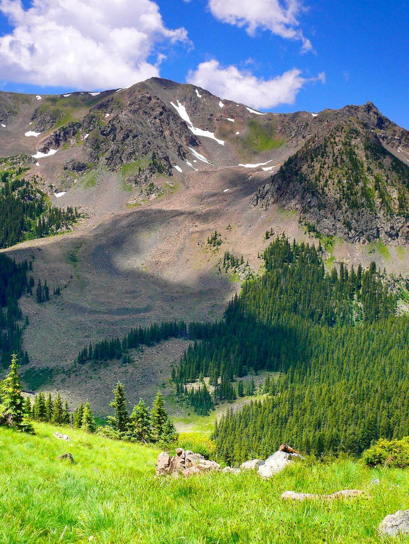 lovely Lake Fork Peak