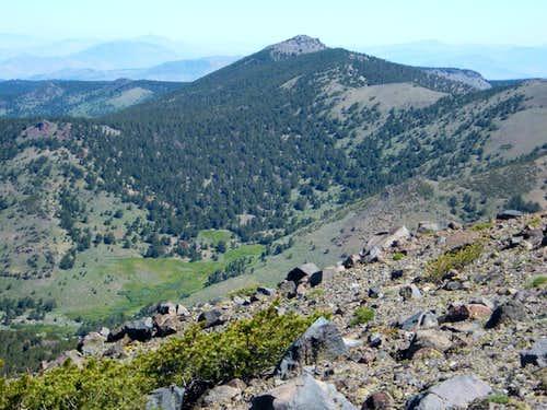 Snowflower Mountain from Mount Houghton