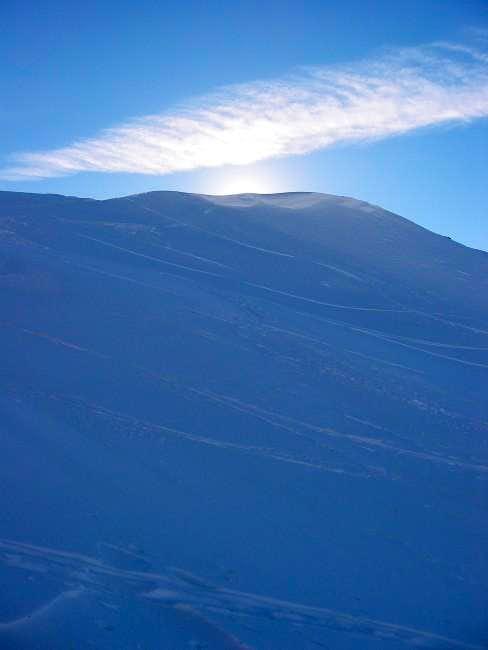 Unnamed peak (7696') en route...