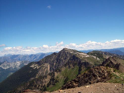 Shot from the summit