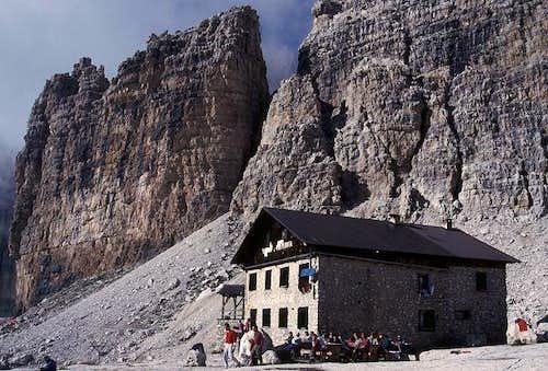 Alimonta hut (2591 m, highest...