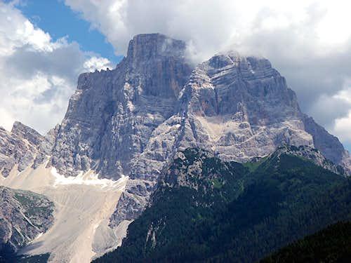 Monte Pelmo in the Clouds
