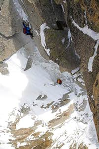 On the crux mixed section of the Vogler