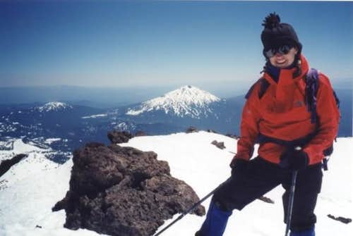 South Sister, summit June 8,...