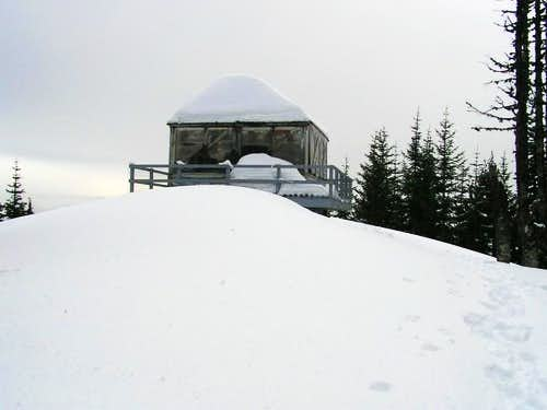 Lookout at the summit of...
