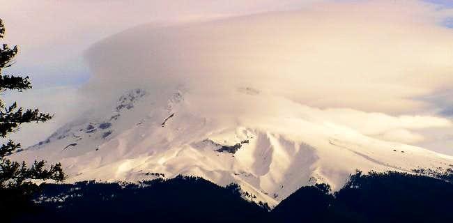 Mt. Hood from Devils Peak...