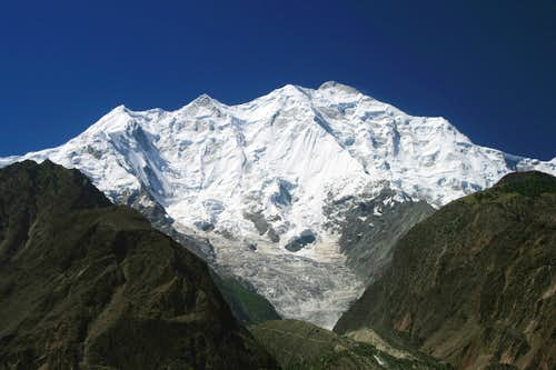 North Face of Rakaposhi (7788m)