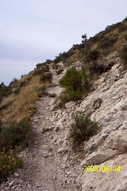 Guadalupe Peak -- Approaching the Summit (2008)