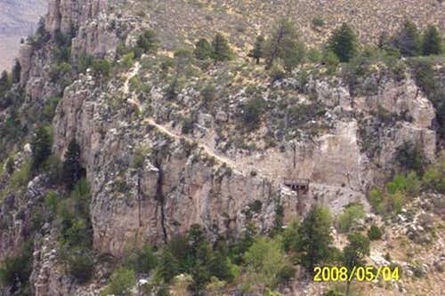 Guadalupe Peak -- The Cliffside Trail (2008)