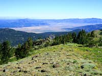 The Sierra Valley from Mt. Lola North