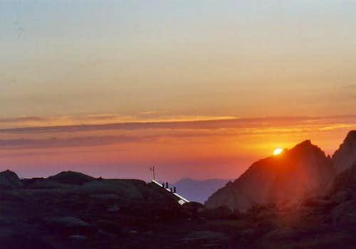Sunrise @ Trail Camp