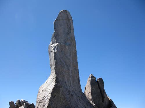 Milk Bottle  Summit Block (5.6), Starlight Pk. (14,200 )