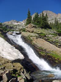 Waterfall in Glacier Gorge