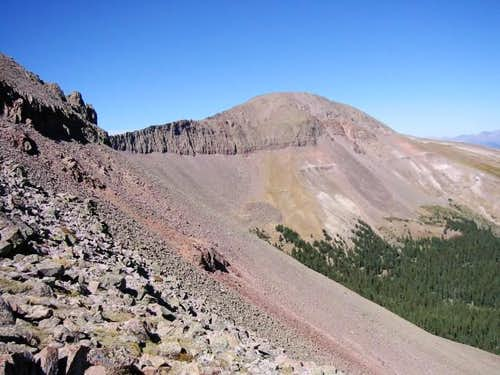 West Buffalo Peak seen from...