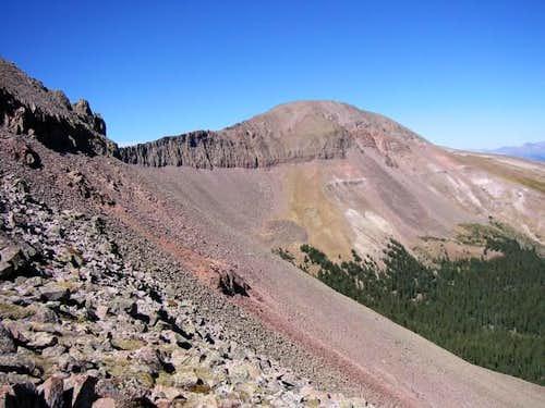 West Buffalo Peak seen from...
