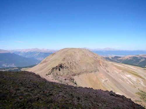 West Buffalo Peak as seen...