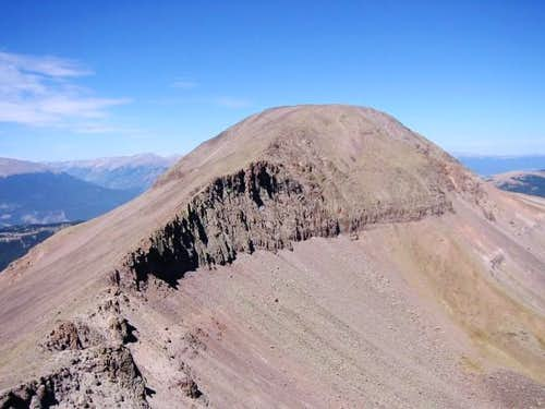 West Buffalo Peak from the...