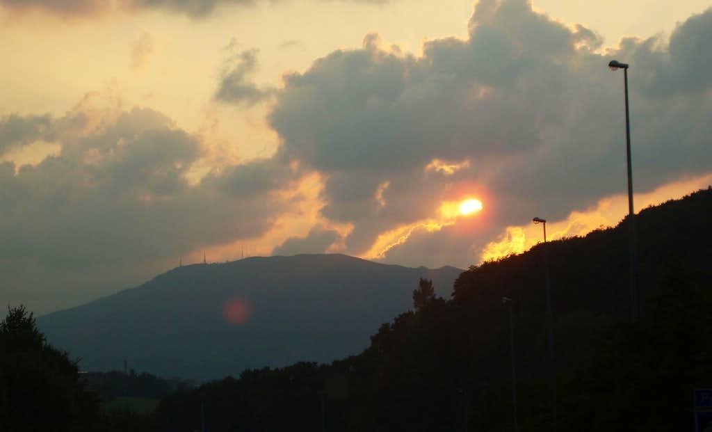 Jaizkibel sunset