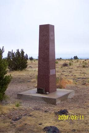 Black Mesa Summit Monument (2007)