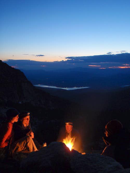 Chimney Rock Campfire