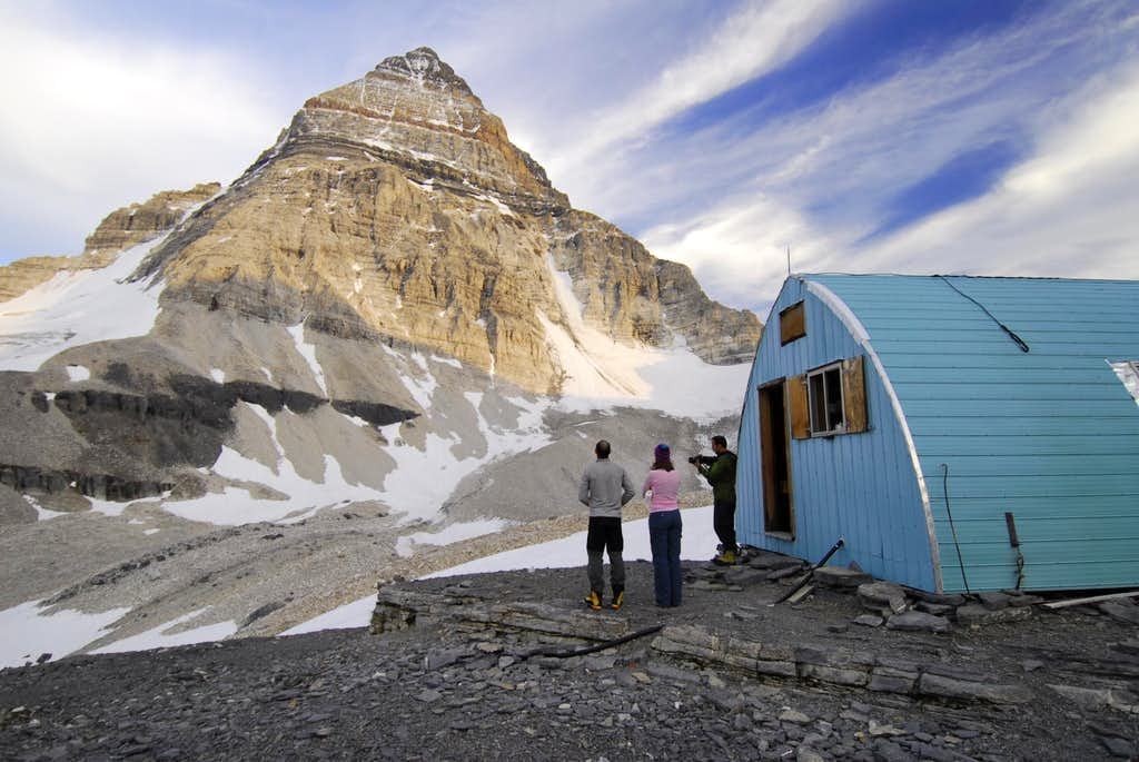 Mt Assiniboine and Hind Hut