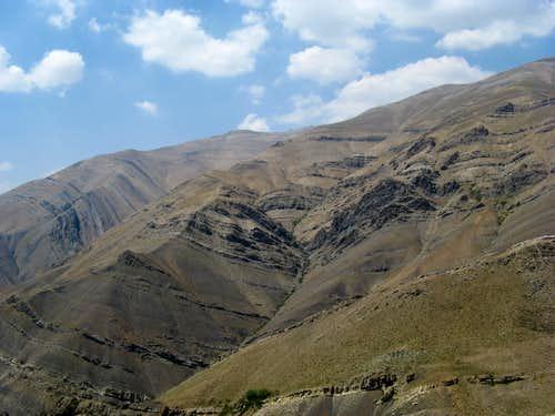 ShirPala to Tochal Ridge
