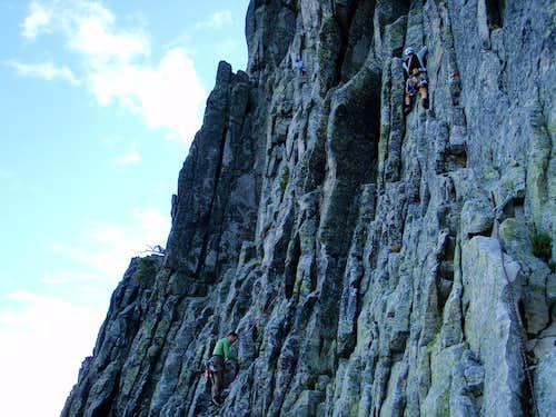 First Pitch - Chimney Rock