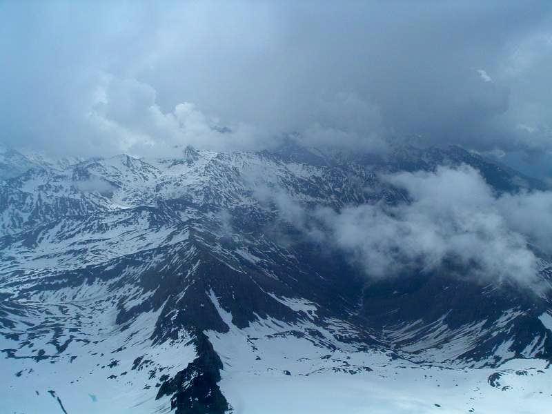 Grossglockner summit view