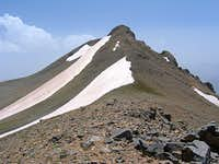 North Face of Summit