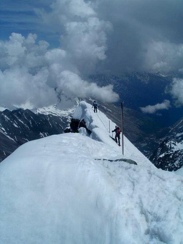 Grossglockner descent