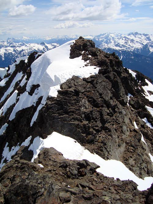 Mount Outram North Summit