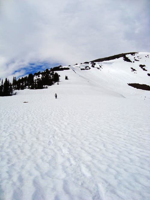 Snoy Descent of Mount Outram