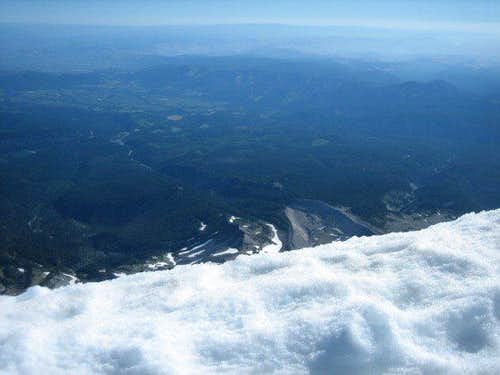 Mt. Hood summit view