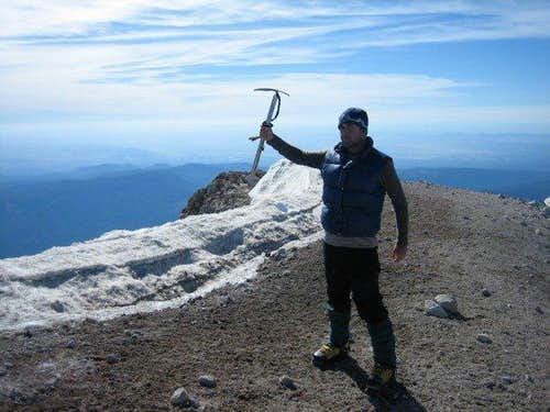 Mt. Hood summit