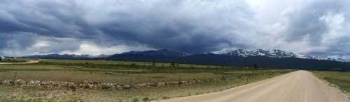 Storms Over Sawatch Range