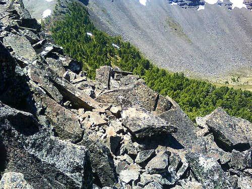 Scrambling Howlock's Pinnacle