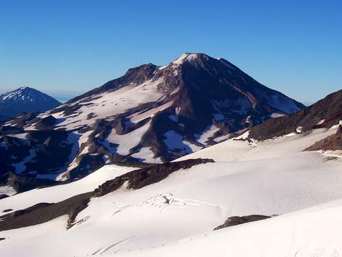 South sister/Hayden Glacier.