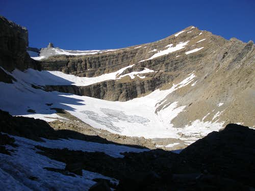 Taillon glacier