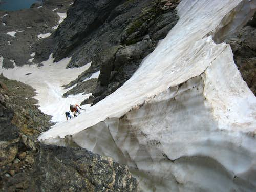 Beating The Heat On Taylor Glacier