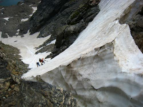 Nearing The Top Of Taylor Glacier