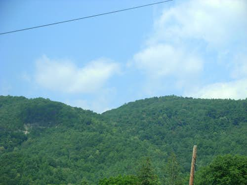 Hillsides Within The Allegheny Mountains...